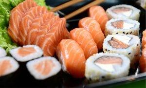 Si può mangiare sushi se si è a dieta