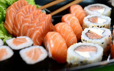 Il sushi nella dieta