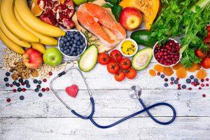 Stetoscopio cibo frutta