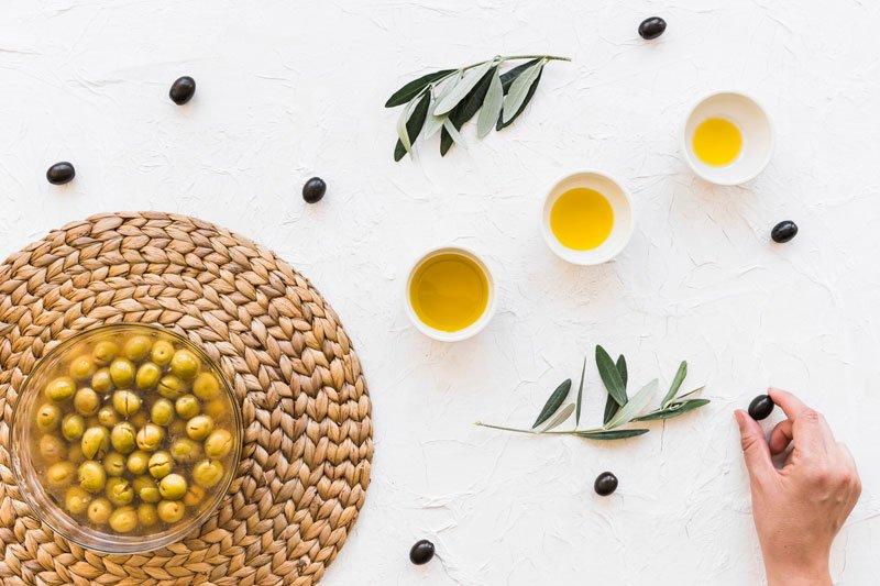 Olio d'oliva tavola