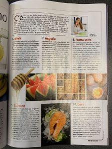 Articolo alimenti Men's health