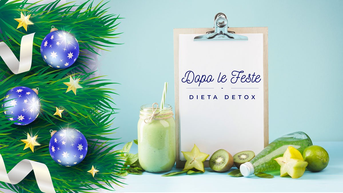 Dieta detox feste natale