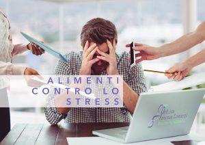 Alimenti stress food ufficio