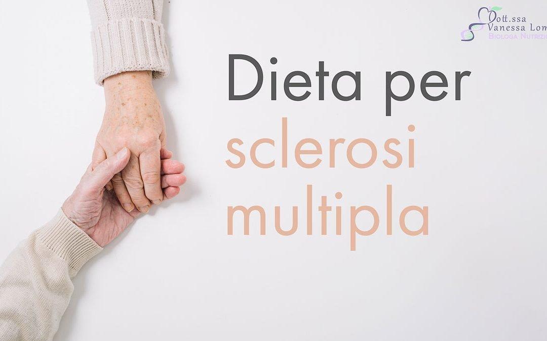 Dieta per sclerosi multipla