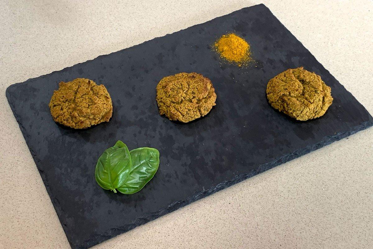 Polpette vegetariane vegane lenticchie