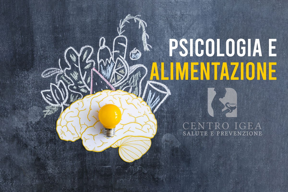 Psicologia e alimentazione