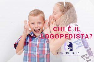 Bambini parlano logopedia