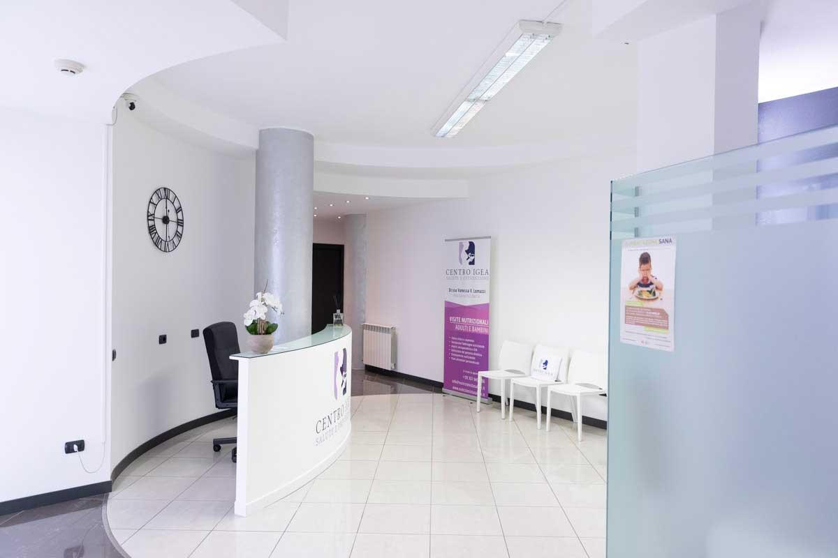 Sala d'attesa Centro IGEA Legnano
