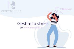 Disegno di donna stressata