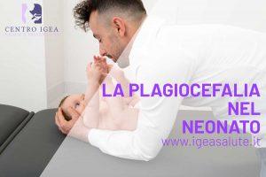 Bambino Neonato Plagiocefalia osteopata pediatrico